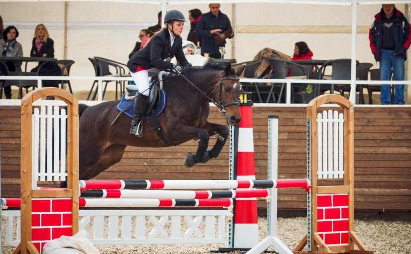 A sportswoman from Feldman Ecopark won a gold medal in the All-Ukrainian Riding Competition