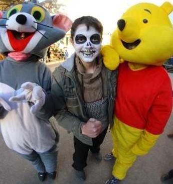 На выходных в Фельдман Экопарк отметили Хэллоуин