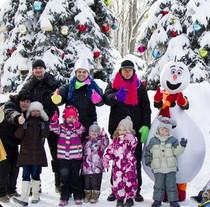 В Фельдман Экопарк состоялся парад зимних забав