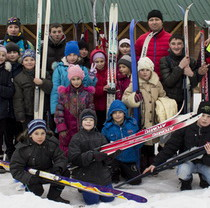 Training for skiers launched in Feldman Ecopark