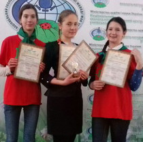 Young naturalists of Feldman Ecopark won top places in all-Ukrainian competitions