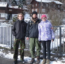 Feldman Ecopark's biologists presented author's project to Polish counterparts