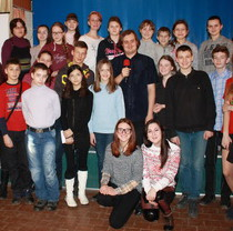 Young naturalists of Feldman Ecopark presented their researches in Kharkiv zoo