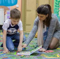 В новом кабинете Центра психосоциальной реабилитации начали групповые занятия с детьми
