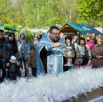 В Фельдман Экопарк отпраздновали Воскресение Христово