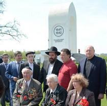 У Дробицькому Яру висадили алею пам'яті жертв нацизму