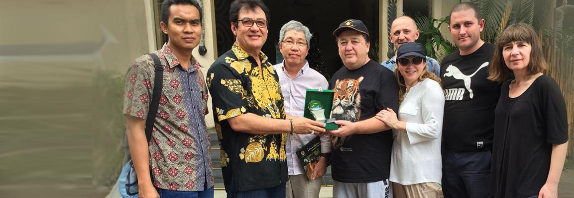 Фельдман Экопарк и Ассоциация зоопарков и аквариумов Индонезии подписали договор о сотрудничестве