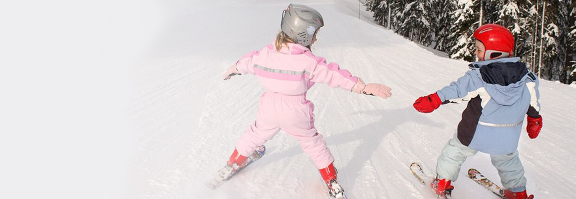 Лыжно-биатлонный клуб Фельдман Экопарк проводит занятия для слабовидящих детей