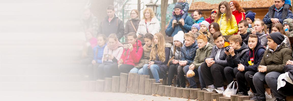 Pupils from Prykarpattia will become volunteers Feldman Ecopark