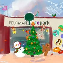 Feldman Ecopark Invites to Cheerful and Tasty Great New Year's Training