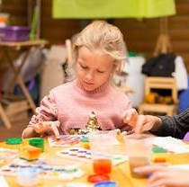 Feldman Ecopark's Psychologists Upgrade Art Therapy Skills with Special Children
