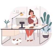 Как эффективно работать на дому – рекомендации психологов Фельдман Экопарк