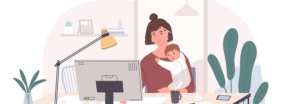 Як ефективно працювати на дому — рекомендації психологів Фельдман Екопарк