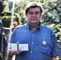 Харьковского тележурналиста-эколога наградили орденом Леонтовича