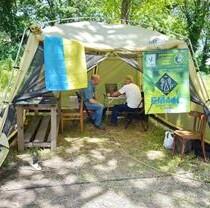 Харьковские радиолюбители активировали спецпозывной Фельдман Экопарк на эфирной карте мира